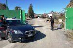 Sequestrata una cava usata come discarica abusiva a Paternò, una denuncia
