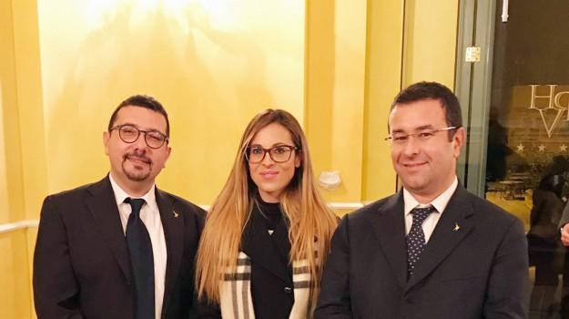 Da sinistra: Igor Gelarda, Mimma Amari, Stefano Candiani