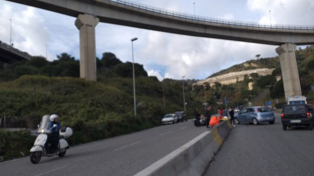 incidente messina viale giostra, Messina, Cronaca
