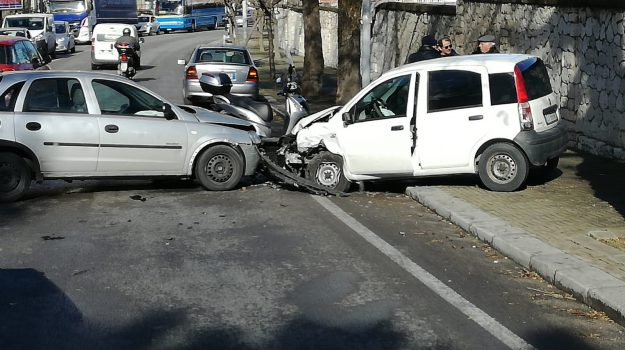 incidente via messina marine palermo, Palermo, Cronaca