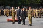 Il ministro della Difesa Elisabetta Trenta visita i reparti dell'esercito a Catania e Messina