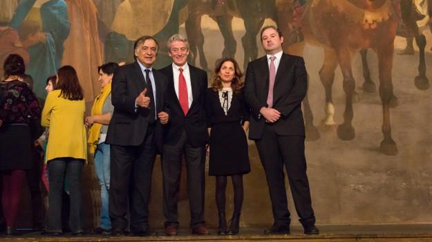 restauro sipario Massimo, sipario giuseppe sciuti, sipario teatro massimo, teatro massimo, Palermo, Cultura