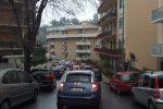 Messina, traffico via Olimpia San Licandro