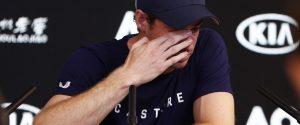 Andy Murray annuncia il ritiro