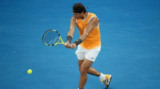 Nadal in finale Australian Open 2019, Rafael Nadal, Sicilia, Sport