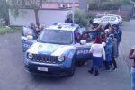 Terremoto nel Catanese, i poliziotti incontrano gli alunni della scuola di Fleri