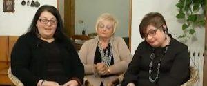Le sorelle Anna, Ina e Irene Napoli
