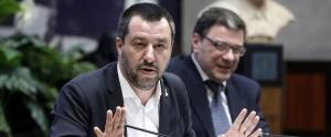 Matteo Salvini, vice premier e ministro dell'Interno