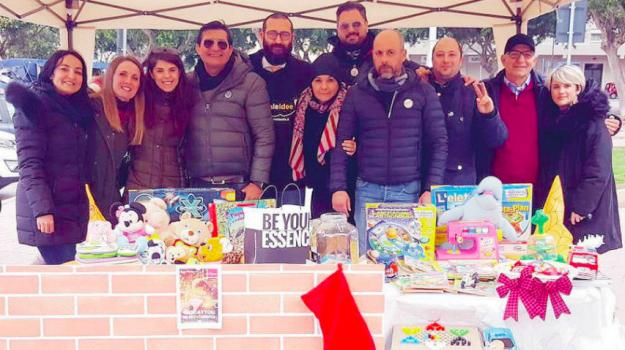 befana Erice, Befana Trapani, giocattoli in moVimento, trapani, Alessandro Barracco, Trapani, Cronaca