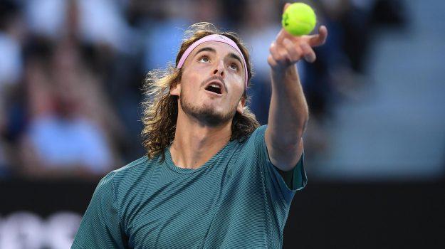 australian open, Tennis, Stefano Tsitsipas, Sicilia, Sport
