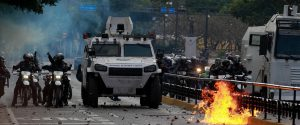 Venezuela, scontri a Caracas
