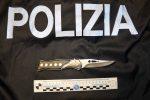 Nasconde un coltello a serramanico in auto, denunciato a Vittoria