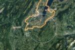 Il cerchio più grande indica il successore dell'acceleratore Lhc, il Future Circular Collider (Fcc)(fonte: CERN)