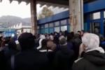 Blutec di Termini Imerese, protesta davanti ai cancelli dell'ex Fiat