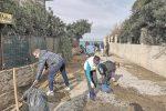 Capo d'Orlando, i volontari ripuliscono il torrente Bruca