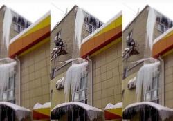 Il filmato girato a Saratov, in Russia