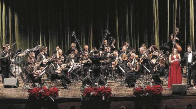 concerto di capodanno, taormina palazzo dei congressi, tgs, Messina, Cultura