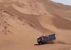 Andrey Karginov è stato squalificato dalla Dakar 2019 per non essersi fermato per prestare soccorso