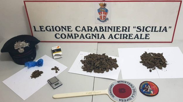 acireale arresto droga, Cristian Arcidiacono, Catania, Cronaca