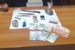 Nasconde in cucina marijuana, hashish e cocaina: un arresto a Cassibile
