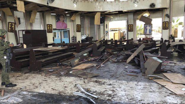 attentato filippine, bombe filippine, Sicilia, Mondo