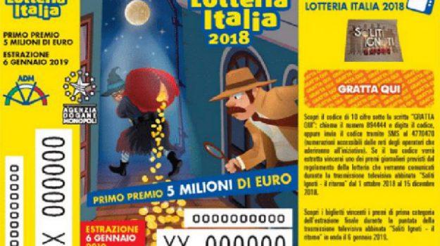 estrazione, lotteria italia, soliti ignoti, Sicilia, Cronaca