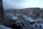 Maltempo: Basilicata al gelo, imbiancati i Sassi di Matera