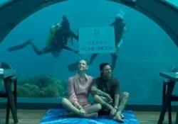 In viaggio di nozze hanno cenato al 5.8 Undersea Restaurant