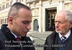 L'intervista rilasciata dalla società italiana di medicina diagnostica e terapeutica che Aiuti presiedeva