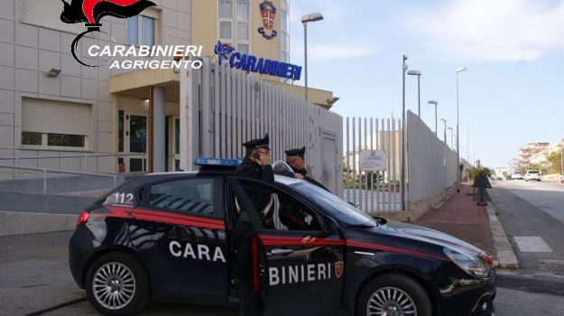 rapina menfi, Agrigento, Cronaca