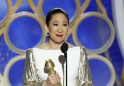 La 47enne canadese premiata come miglior attrice in una serie tv drammatica