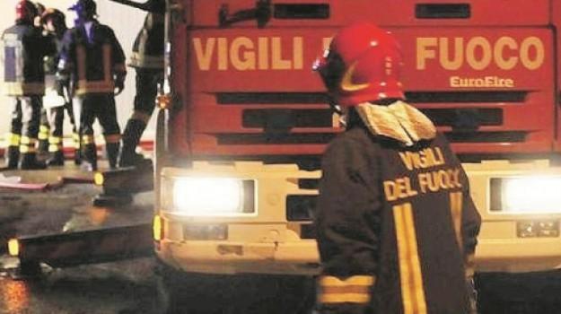 incendio agrigento, Agrigento, Cronaca