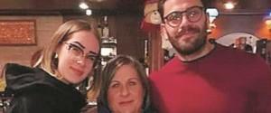 Aurora Pucci con la zia Rita Barone e il fidanzato Cristian Minardo
