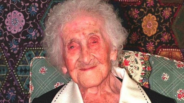 Donna più longeva mondo, Jeanne-Louise Calment, Sicilia, Mondo