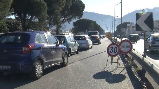lavori ponte Basile, lavori viale regione palermo, Palermo, Cronaca