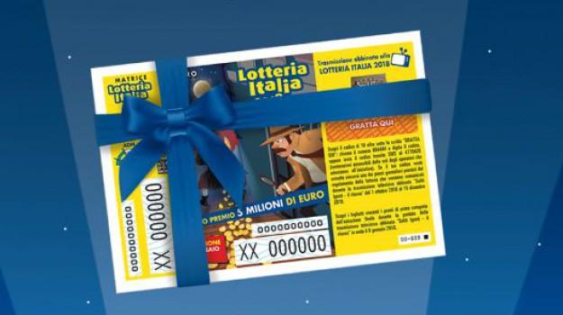 lotteria italia, Sicilia, Società