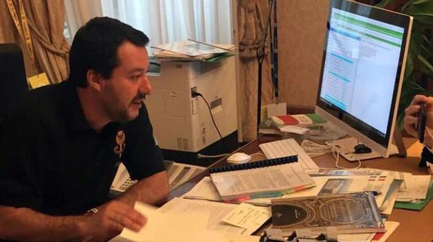 caso diciotti, Matteo Salvini, Sicilia, Politica