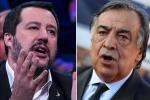 """Migranti, Orlando contro Salvini: a Palermo sospeso il decreto Sicurezza. Il ministro: """"La città ha altri problemi"""""""
