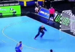 Edvaldo Ferreira ha meravigliato il pubblico della Coppa del Mondo di pallamano