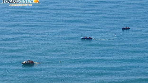 guardia costiera porto empedocle, mareamico agrigento, pesca di novellame Giallonardo, Agrigento, Cronaca
