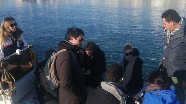 migranti sea watch, Francesco Italia, Nicola Fratoianni, Riccardo Magi, Stefania Prestigiacomo, Siracusa, Cronaca