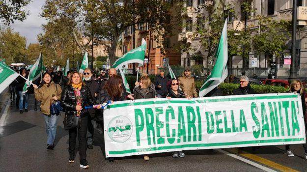 asp palermo, precari, sciopero, Palermo, Cronaca