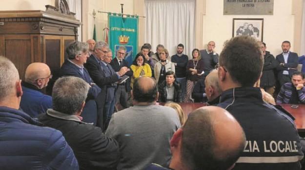 protesta tari ragusa, Ragusa, Politica