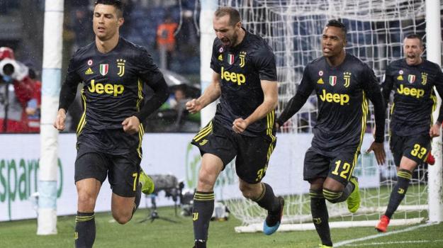 Lazio-Juventus, Cristiano Ronaldo, Sicilia, Sport