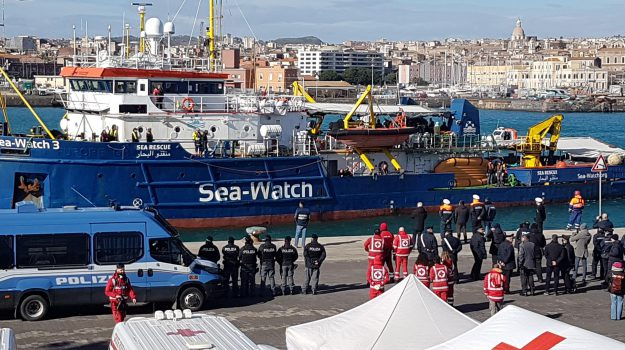 migranti, Sea Watch, Sicilia, Cronaca