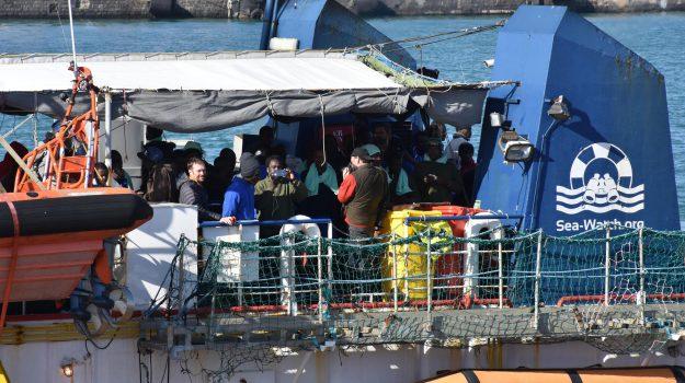 migranti, Sea Watch, Catania, Cronaca