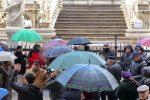Il sit-in contro il decreto a Palermo