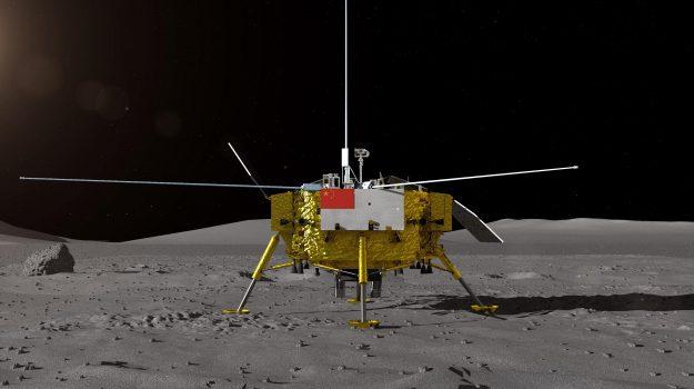 sonda Chang'e-4, sonda cina luna, Sicilia, Mondo