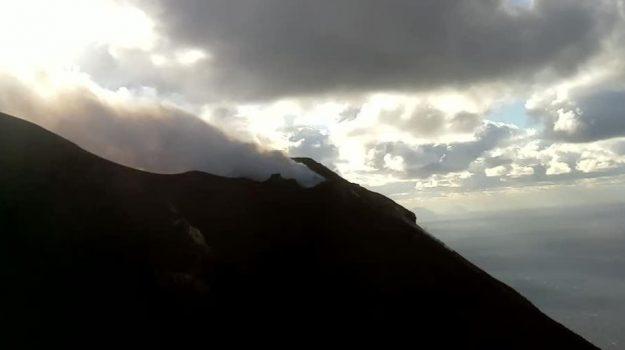 eruzione stromboli, Esplosioni Stromboli, Stromboli, Messina, Cronaca