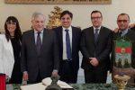 """Tajani a Catania presenta piano da 200 miliardi per il Sud: """"La Sicilia rilanci gli aeroporti"""""""